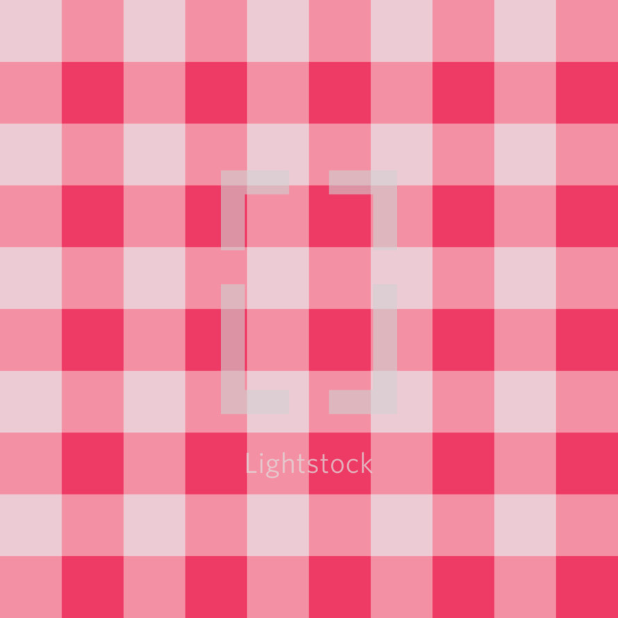 pink gingham background