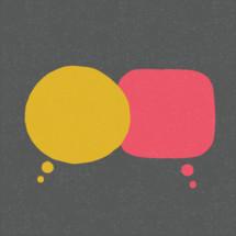 conversation of speech bubbles