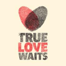 True Love Waits, heart finger prints