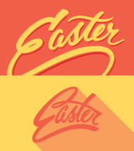 Easter in yellow and orange