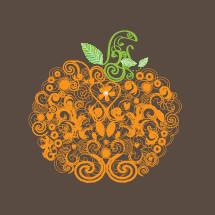 decorative pumpkin icon