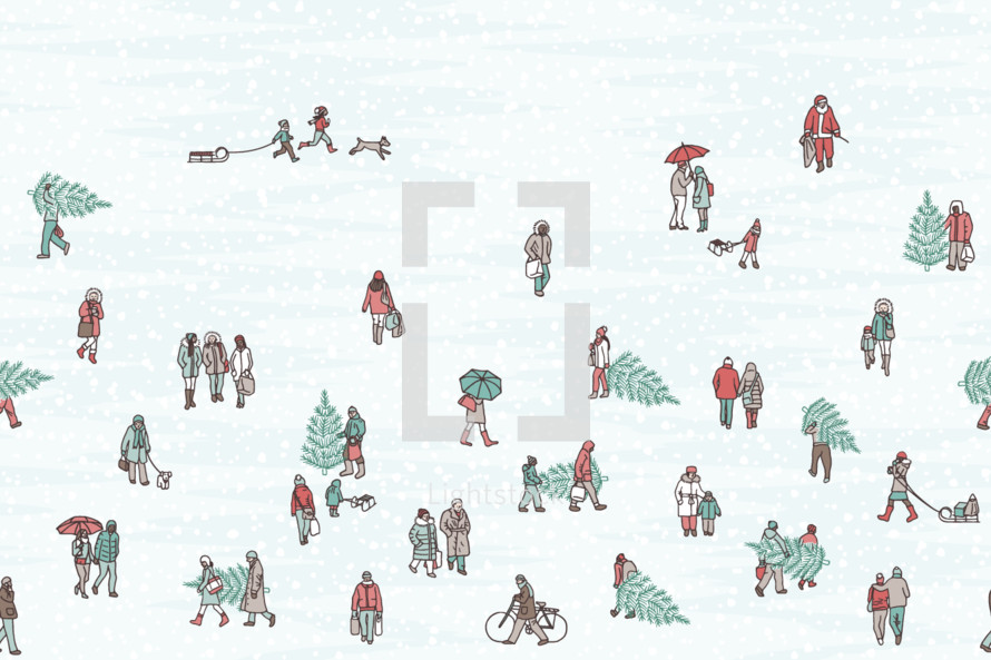 tiny winter people
