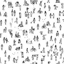 tiny people community background