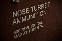 nose turret ammunition