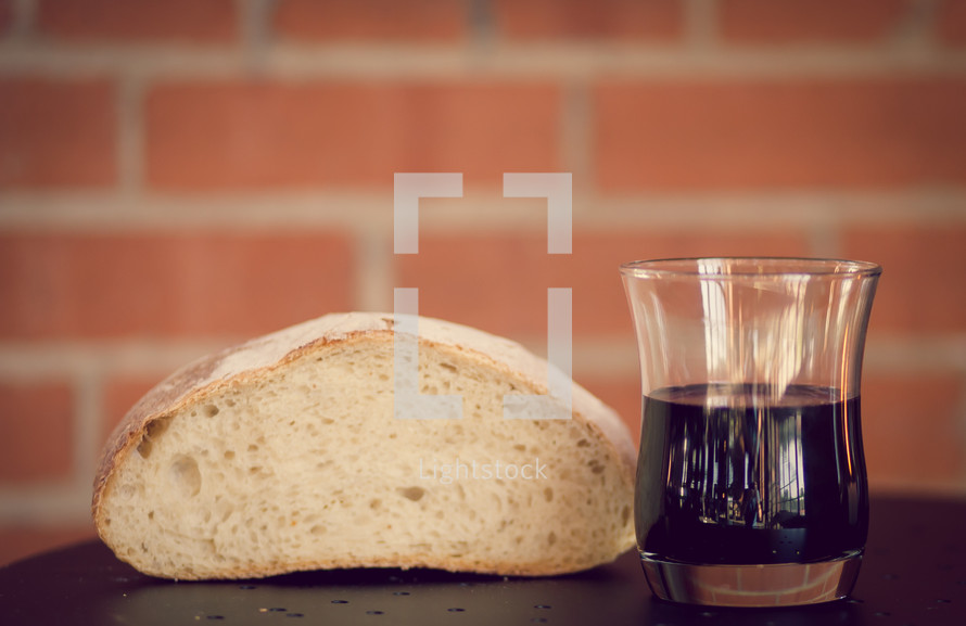 bread and wine - communion