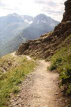 path on a mountain