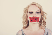 silenced by life