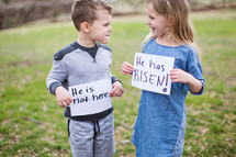 He is not Here, He is Risen