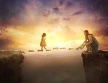 created a spiritual path