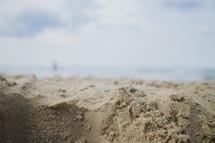 sand on Foster Beach
