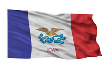 State Flag of Iowa.