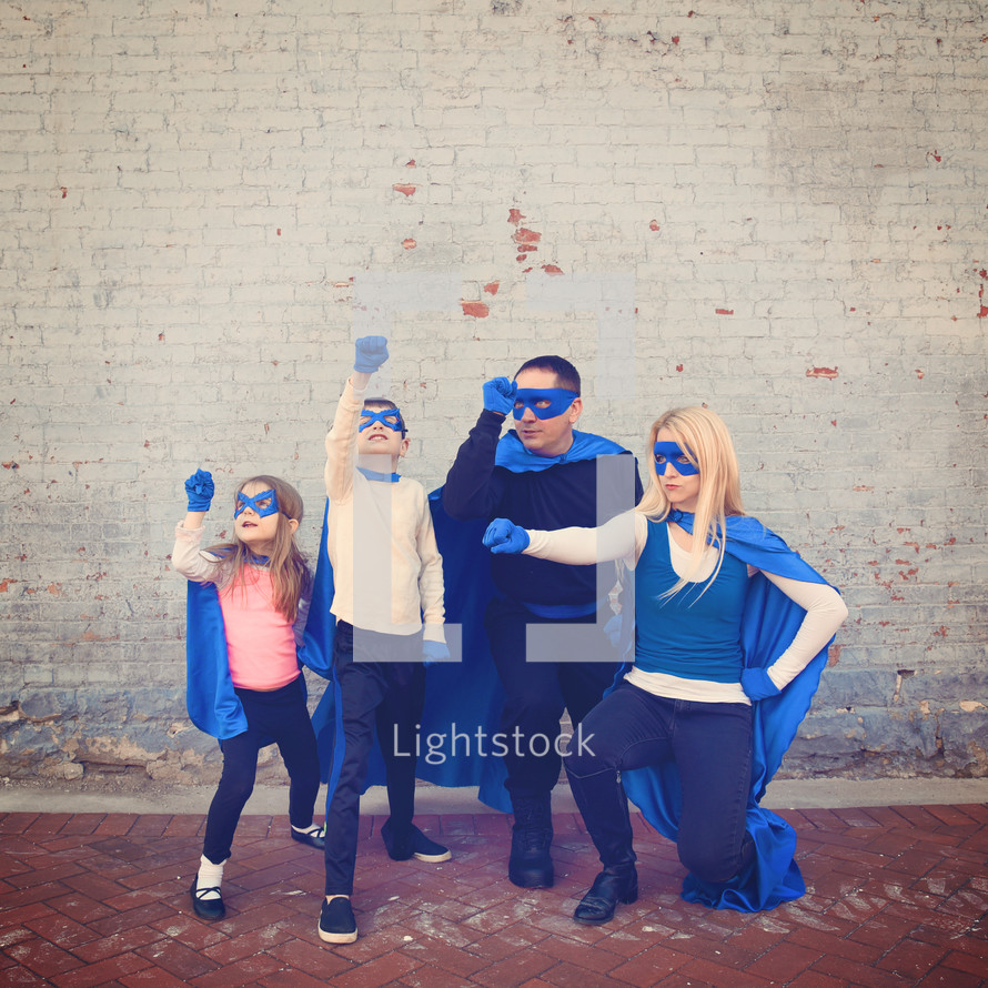 A family of super heroes