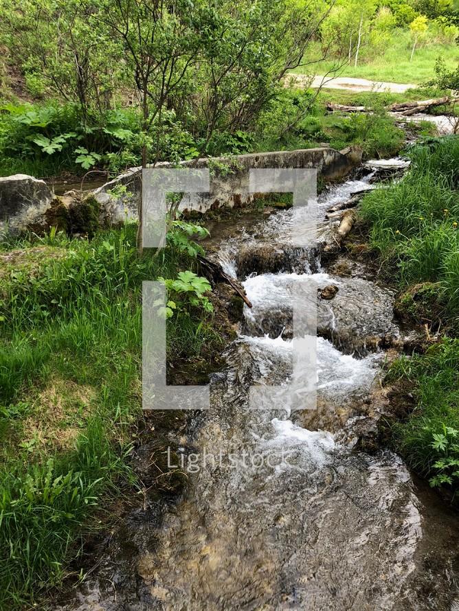 trickling brook