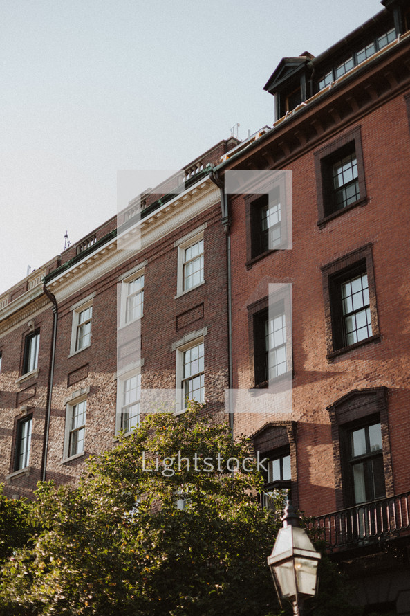 brick buildings in Boston