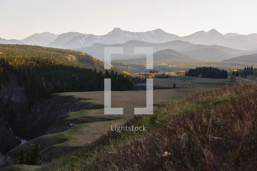 alberta mountain range