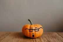 a little hipster pumpkin