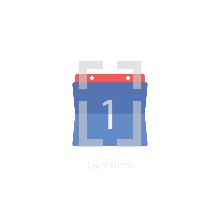 modern calendar icon