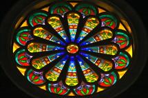 Stained Glass Window, Suzhou Three Self Church.