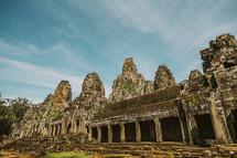 ruins in Cambodia