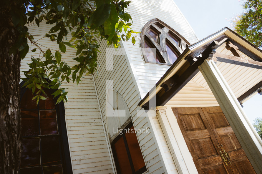 doors of a church