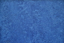 Blue linoleum structure background.