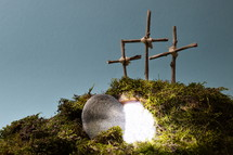 easter decoration – resurrection garden