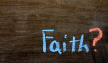 faith?