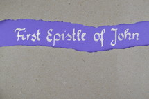 first Epistle of John