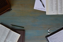 modern bible study of Joel with technology