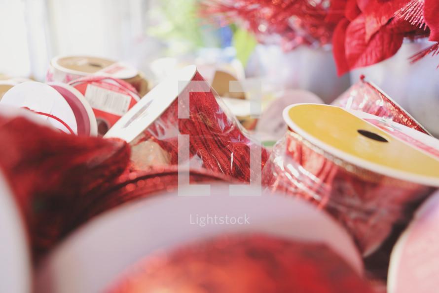 festive ribbon