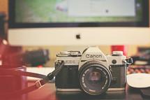 vintage Canon camera