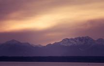 morning fog over mountains