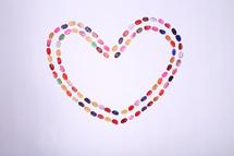 heart of jellybeans