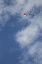 kite in a blue sky