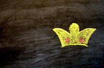 crown in chalk
