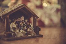 A nativity scene.