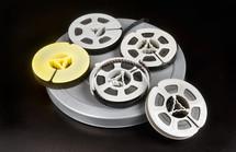 tiny spools of film