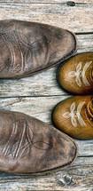father and son cowboy boots
