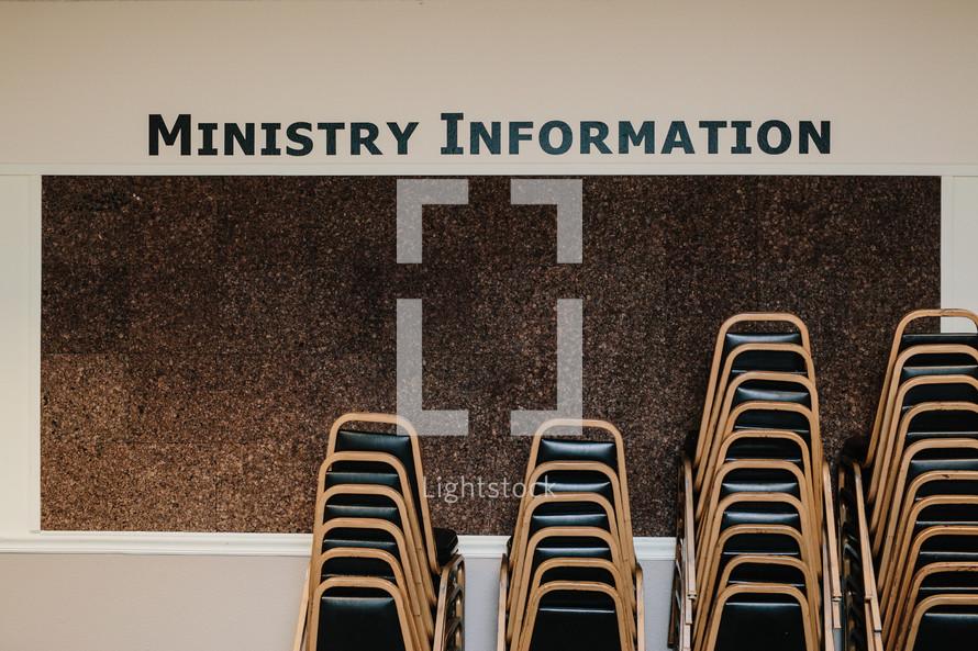ministry information billboard