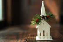 church Christmas decoration
