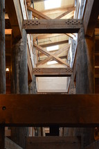 Only Editorial !!!         interior beams of Noah's Ark full scale replica in Kentucky
