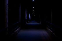 Corridor at night.