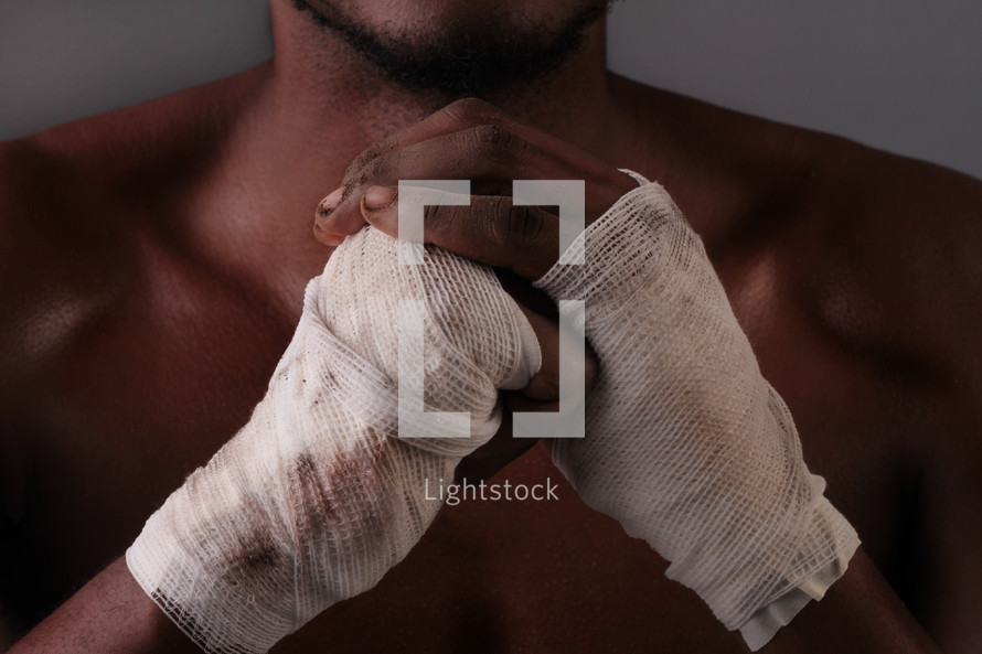 boxer's fists