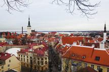Tallinn, Estonia cityscape