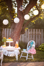 outdoor birthday party