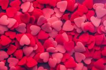 heart shaped sprinkles