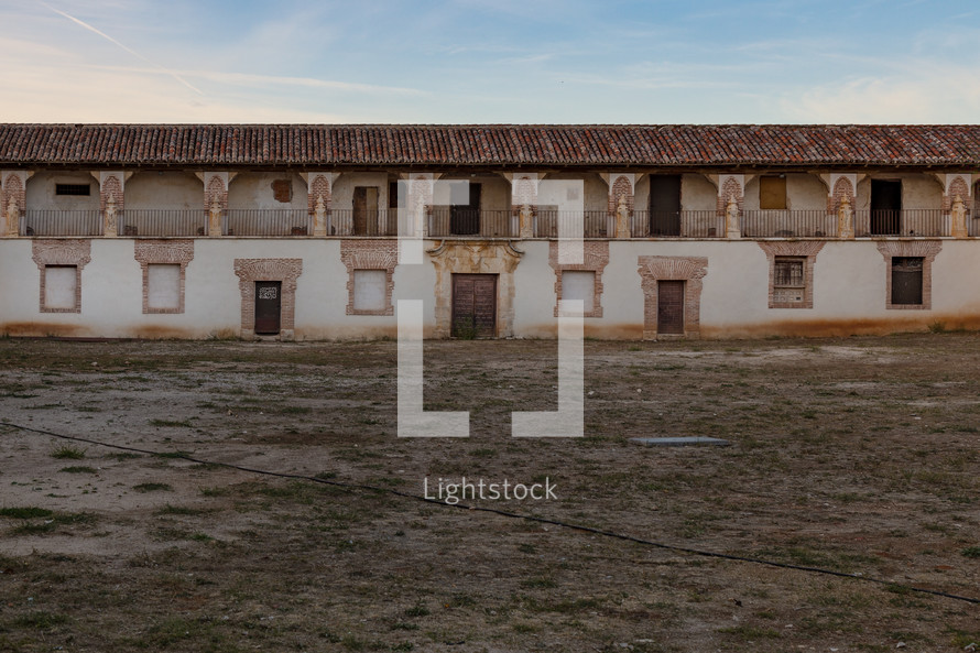 courtyard in Nuevo Baztan, Spain