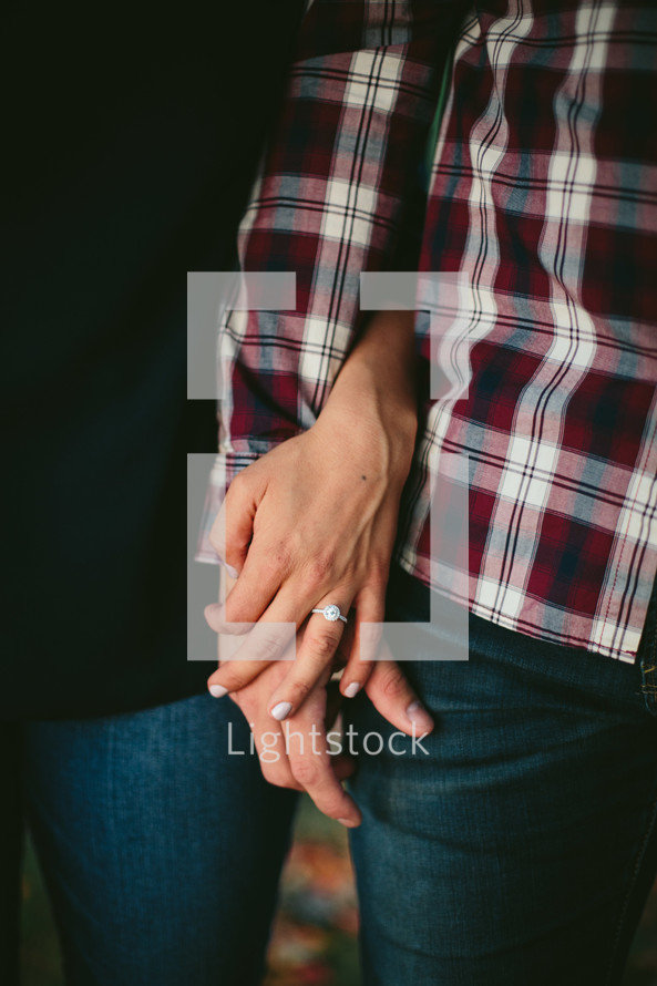 a couple arm in arm
