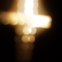 bokeh cross lights