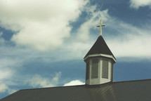 church roof and steeple